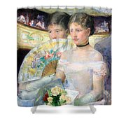 Cassatt's The Loge Shower Curtain