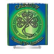 Cassidy Ireland To America Shower Curtain