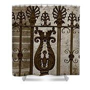 Cast Iron Fence Shower Curtain