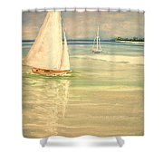 Castaway Shower Curtain