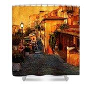 Castel Gandolfo Italy Shower Curtain