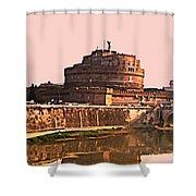 Castel Sant 'angelo Shower Curtain