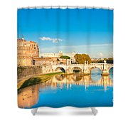 Castel Sant'angelo - Rome Shower Curtain