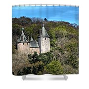 Castell Coch Cardiff Shower Curtain