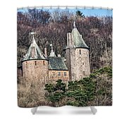 Castell Coch Shower Curtain