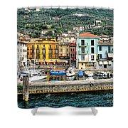 Castelleto Harbor.italy Shower Curtain