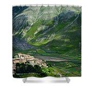 Castelluccio Umbria Shower Curtain