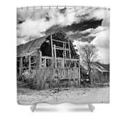 Castile Barn Revisited Shower Curtain