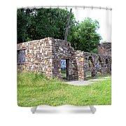 Castle Ruins Shower Curtain