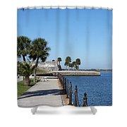 Castillo De San Marco Shower Curtain