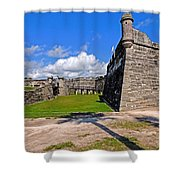 Castillo De San Marcos Shower Curtain