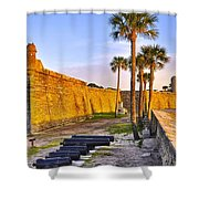 Castillo Sunrise Shower Curtain