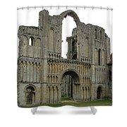 Castle Acre Abbey Shower Curtain