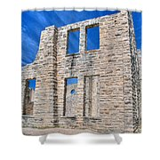 Castle And Sky Shower Curtain