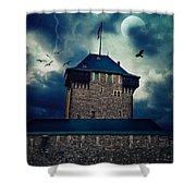 Castle Burg Shower Curtain