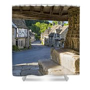 Castle Combe - View Shower Curtain