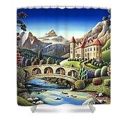 Castle Creek Shower Curtain