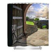 Castle Door Shower Curtain