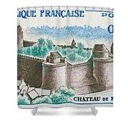 Castle Fougeres Shower Curtain