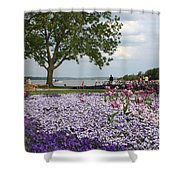 Castle Garden Schwerin - Germany Shower Curtain