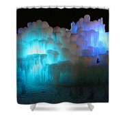 Castle Ghosts Shower Curtain