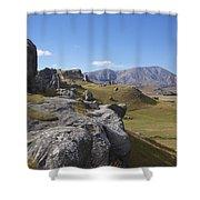 Castle Hill #6 Shower Curtain
