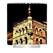 Louisville Kentucky Old Fort Nelson Building Shower Curtain