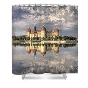 Castle In The Air Shower Curtain