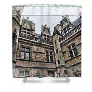 Castle In The Clouds Paris France Shower Curtain