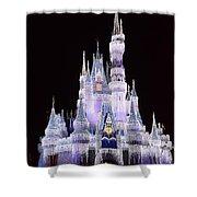Castle In Winter Shower Curtain