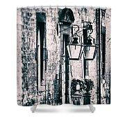 Castle Lamps Shower Curtain