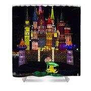 Castle Lantern Shower Curtain