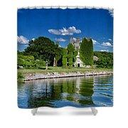 Castle Menlo  Shower Curtain