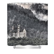 Castle Neuschwanstein  Shower Curtain