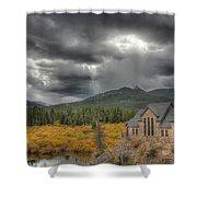 Castle Of Colors Shower Curtain