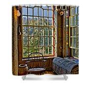 Castle Office Shower Curtain