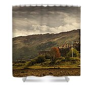 Castle On A Hill Kyle Of Lochalsh Shower Curtain