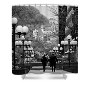 Castle On A Hill Shower Curtain