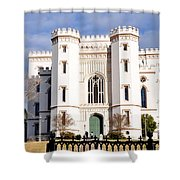 Castle On The Hill Shower Curtain