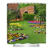 Castle Park Gardens  Shower Curtain