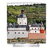 Castle Pfalzgrafenstein Shower Curtain