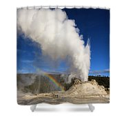 Castle Rainbow Shower Curtain