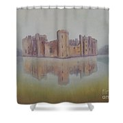 Bodiam Castle Shower Curtain