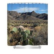 Castle Rock Mountain Shower Curtain