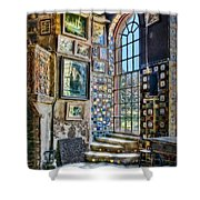 Castle Saloon Shower Curtain