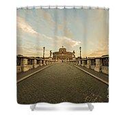 Castle Sant'angelo Shower Curtain