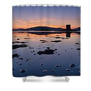 Loch Laich And Castle Stalker Shower Curtain