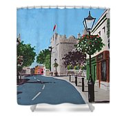Castle Street Dalkey Shower Curtain