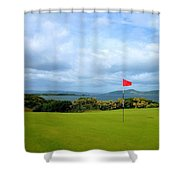 Castle Stuart Golf Links Shower Curtain