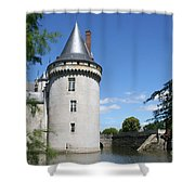 Castle Sully Sur Loire - France Shower Curtain
